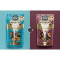 Mighty Fine törökméz Duo Pack: tejcsokoládé + étcsokoládé