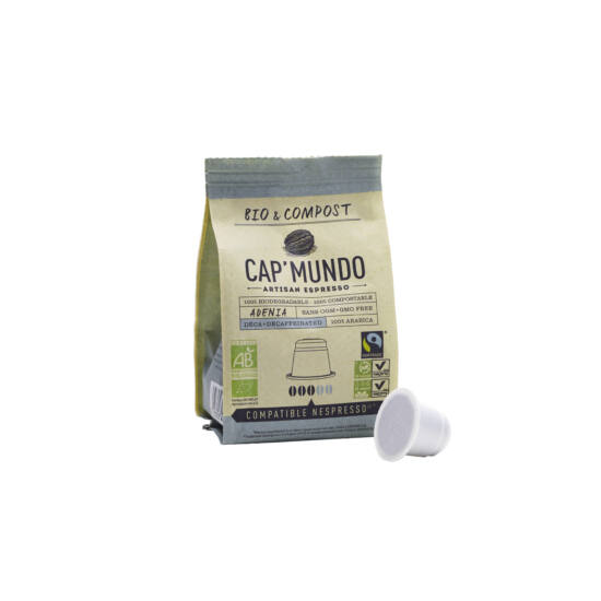 Cap' Mundo Adenia Decaffeinated 10db
