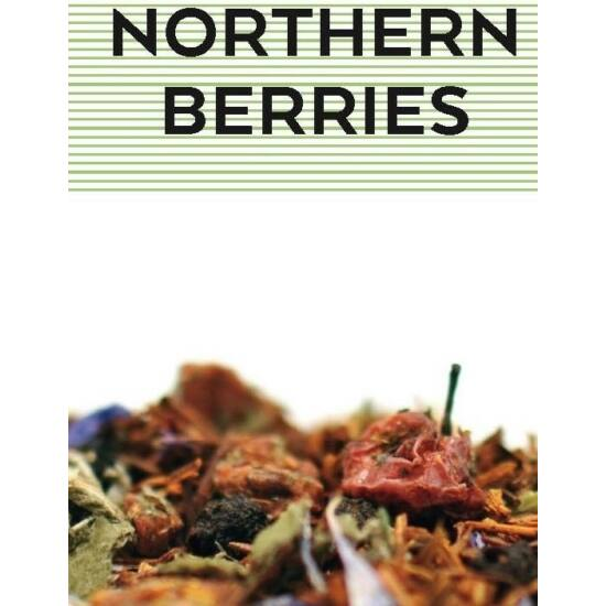 johan & nyström Northern Berries 100g, Rooibos tea