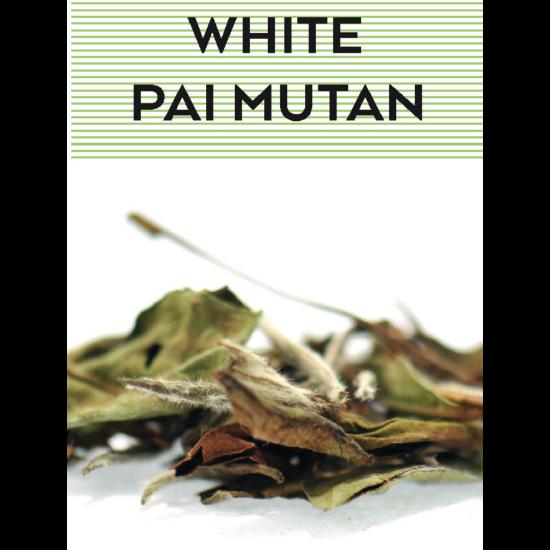 johan & nyström White Pai Mutan , fehér tea