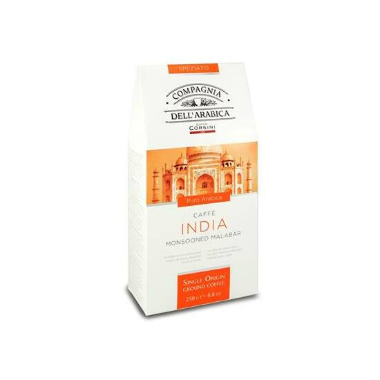 Caffé India Monsooned Malabar őrölt kávé, 250g