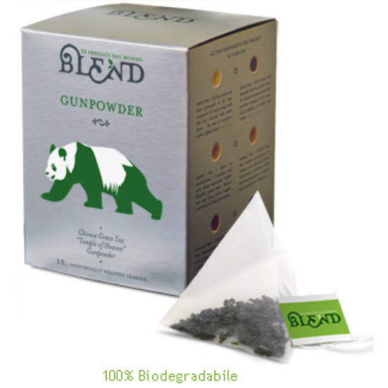 Blend Gunpowder  tea ,15 db filter