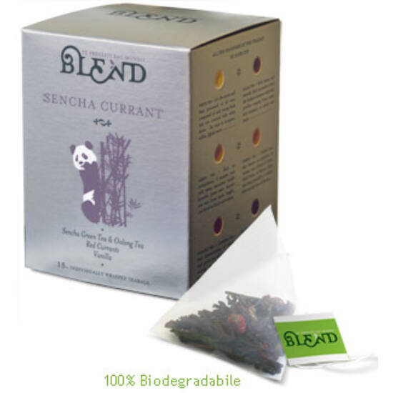 Blend Sencha Currant  tea ,15 db filter