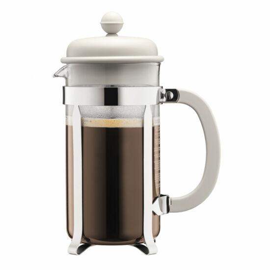 Bodum Caffeteria Big Kávé készítő French press 1.0l, fehér