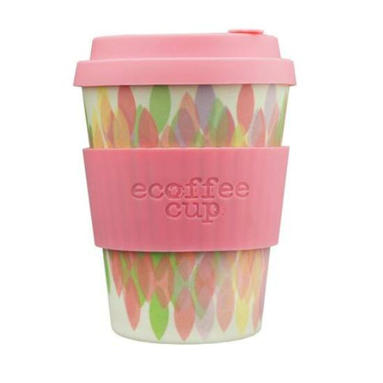 Ecoffee Cup hordozható kávéspohár- Sakura Pink 340ml