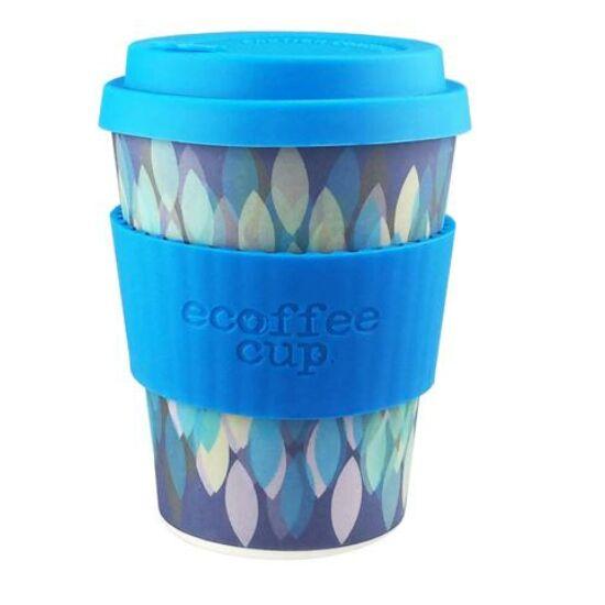 Ecoffee Cup hordozható kávéspohár- Sakura Blue 340ml