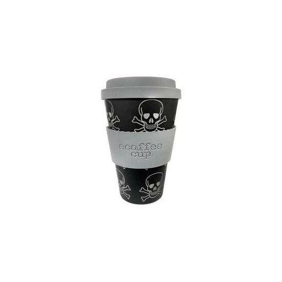 Ecoffee Cup hordozható kávéspohár- Skullduggery 400ml