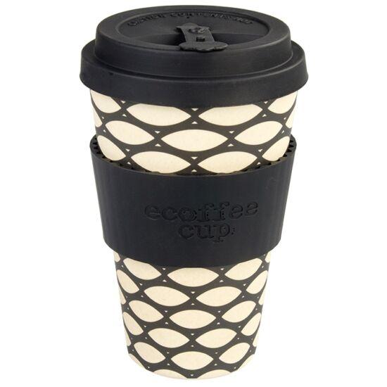 Ecoffee Cup hordozható kávéspohár - Basket Case400 ml