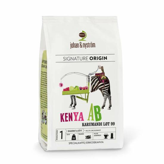 johan & nyström Kenya AB Karumandi Lot szemes kávé 250 g
