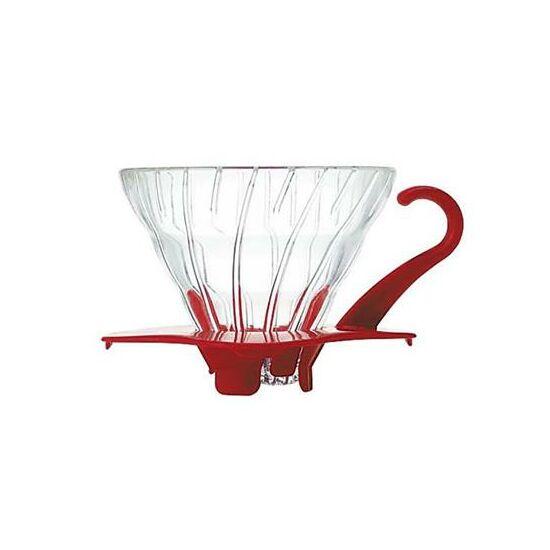 Hario V60 piros üveg Dripper(VDG-01R)