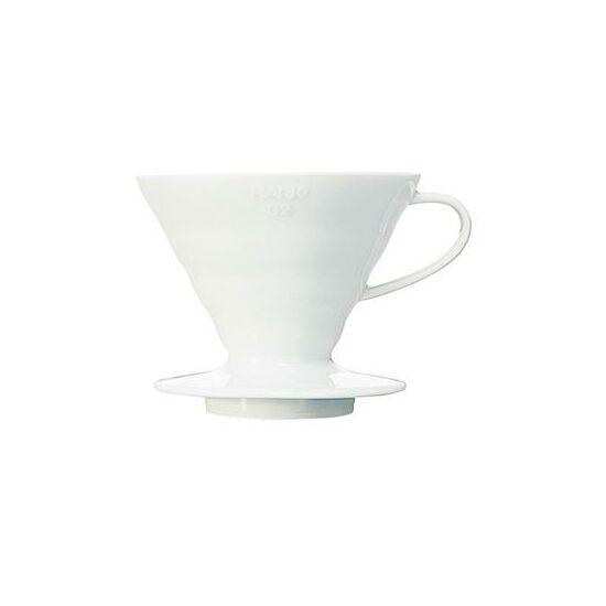 Hario V60 fehér porcelán Dripper (VDC-02W)