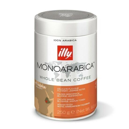illy MonoArabica Etiópia szemes kávé, 250 g