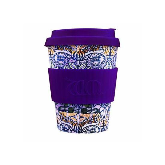 Ecoffee Cup hordozható kávéspohár- WM Peacock 340ml
