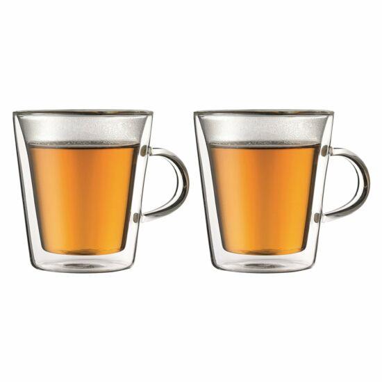 Bodum CANTEEN Dupla falú üveg csésze szett (2 db)