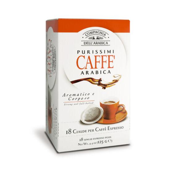 Caffé Purissimi Arabica kávé pod, 18db