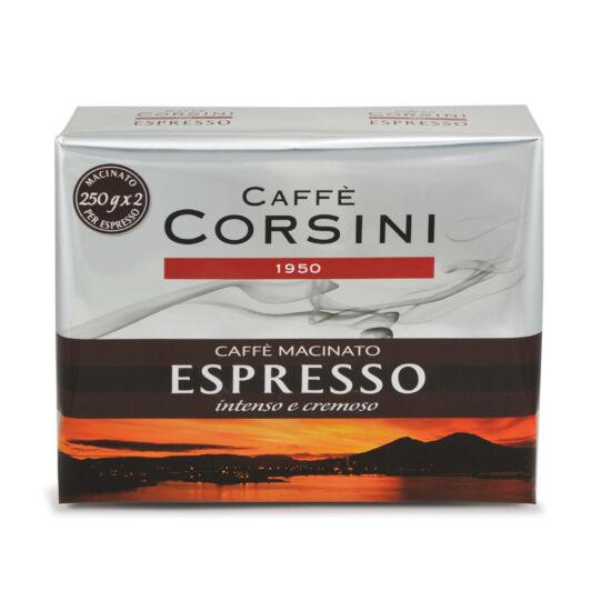 Caffé Corsini Espresso Casa őrölt kávé, 2x250g
