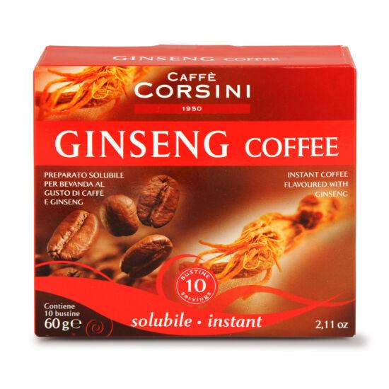 Caffé Corsini Sol. Ginseng instant őrölt kávé 10x6g