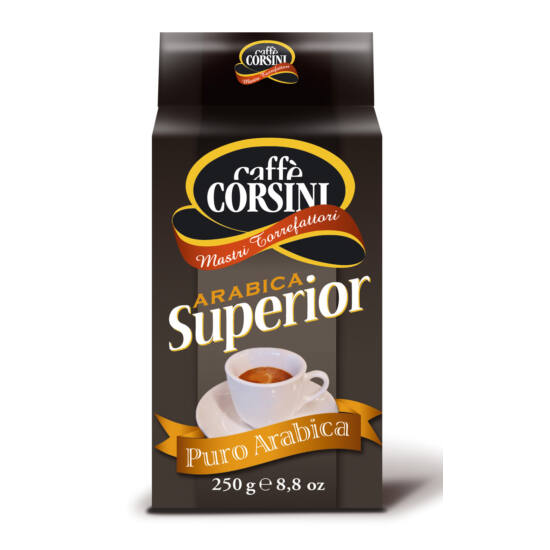 Caffé Corsini Superior 100% Arabica Blend őrölt kávé, 250g
