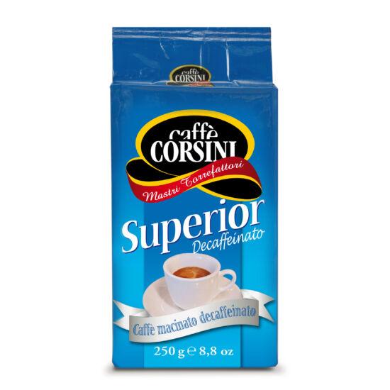 Caffé Corsini Superior Decaffeinato őrölt kávé, 250g