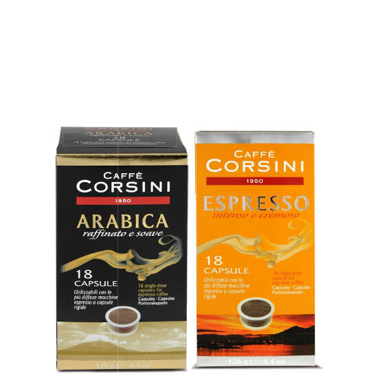 Caffé Corsini kóstoló csomag 2x18db