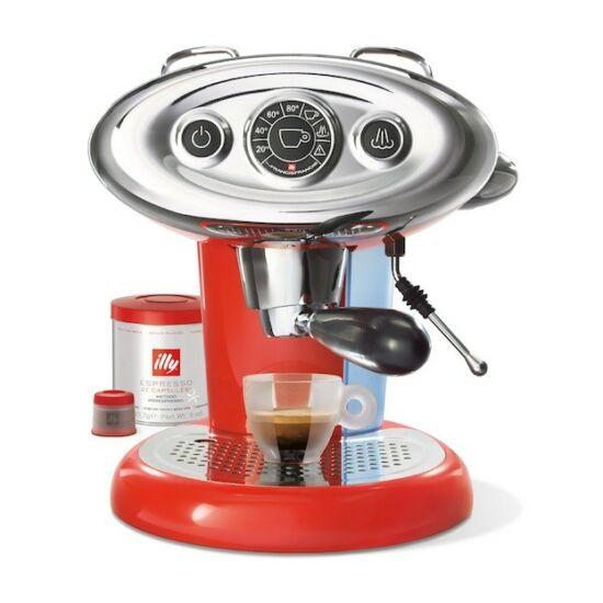 illy Francis Francis X7.1 Iper kapszulás kávéfőzőgép, piros