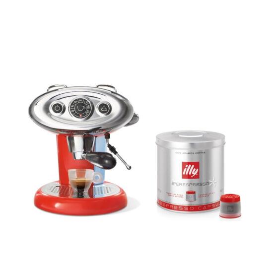 illy Francis Francis X7.1 Iper kapszulás kávéfőzőgép + Kapszula csomag