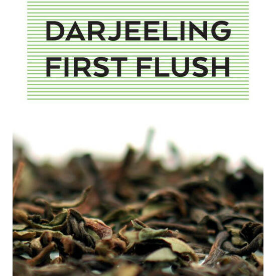 johan & nyström Darjeeling First Flush, fekete tea