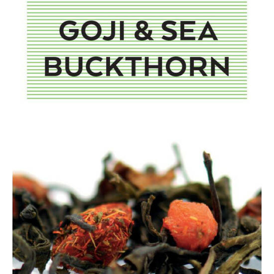 johan & nyström Goji & Sea Buckthorn, ízesített zöldtea