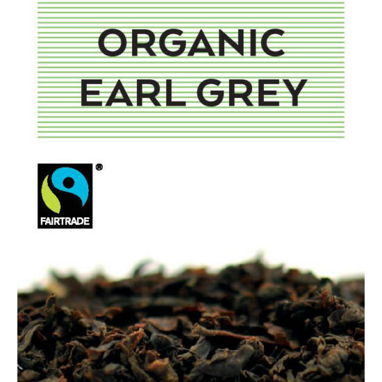 johan & nyström Fairtrade and Organic Earl Grey, fekete tea