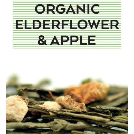 johan & nyström Organic Elfedeflower & Apple, ízesített zöldtea