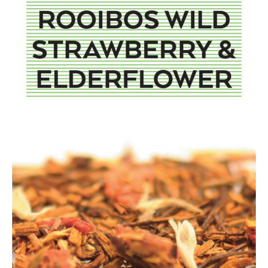 johan & nyström Rooibos Wild Strawberry & Elderflower, Rooibos tea