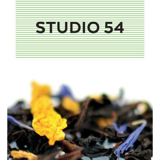 johan & nyström Studio 54, fekete tea