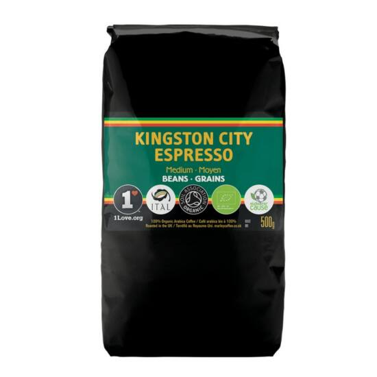 Marley Coffee Kingston City Espresso szemes kávé, 500g