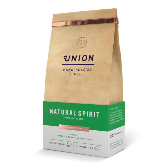 Union Hand Roasted  Coffee Natural Spirit 200g