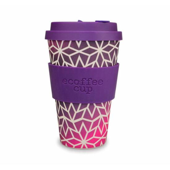 Ecoffee Cup hordozható kávéspohár - Stargrape -400ml