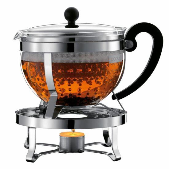 Bodum Chambord teás kanna melegítővel 1.3l