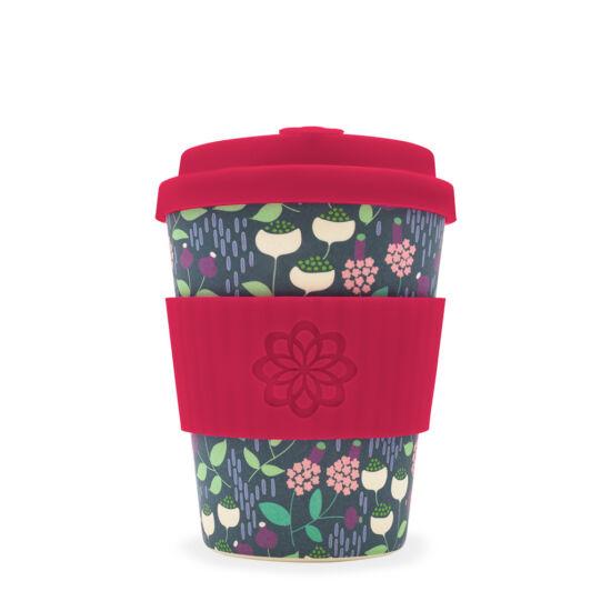 Ecoffee Cup hordozható kávéspohár - Tiny Garden Vondel - 340ml