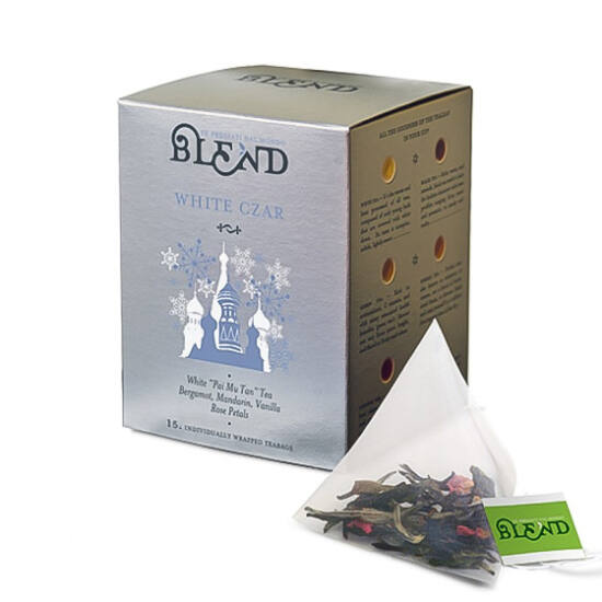 Blend White Czar tea, 15db filter