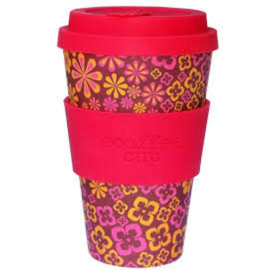 Ecoffee Cup hordozható kávéspohár-Yeah Baby 400ml