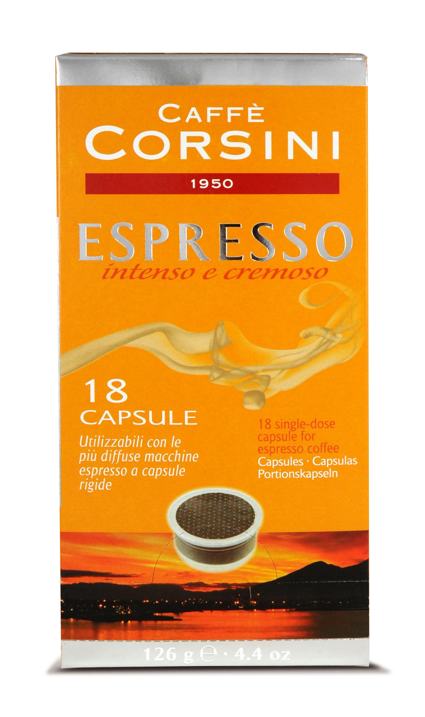 Corsini - Lavazza kompatibilis kapszulák
