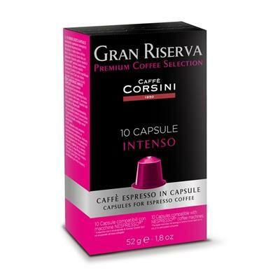 Caffé Corsini -Nespresso kompatibilis kapszulák