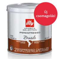 illy kapszula IPER espresso MonoArabica Brazília 21 adag