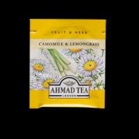 Chamomile & Lemongrass, kamilla és citromfű herbál tea aromazáró tasakban