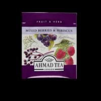 Mixed Berries & Hibiscus, erdei gyümölcs és csipkebogyó tea aromazáró tasakban