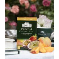Peach & Passion Fruit, őszibarack és maracuja feltálalva