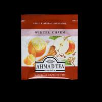 Winter Charm, alma és fahéj ízesítésű gyümölcs tea aromazáró tasakban