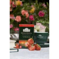 Strawberry Sensation, eper ízesítésű fekete tea kiszerelés