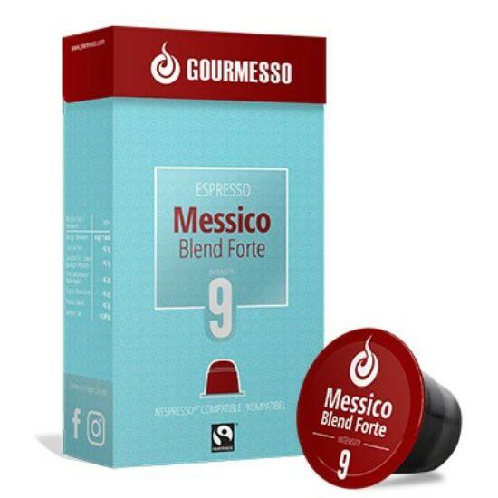 Gourmesso Messico Blend Forte Nespresso kompatibilis kávékapszula, 10 db