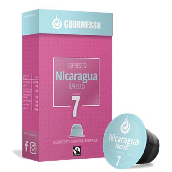 Gourmesso Nicaragua Mezzo, 10 db