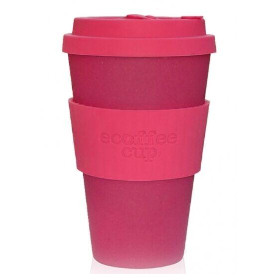 Ecoffee Cup hordozható kávéspohár - Pinkd 400 ml